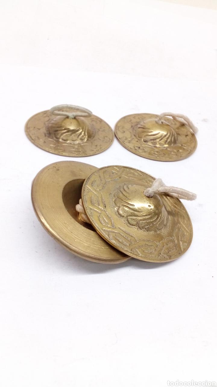 Arte: Platillos tibetanos bronce - Foto 2 - 154175113
