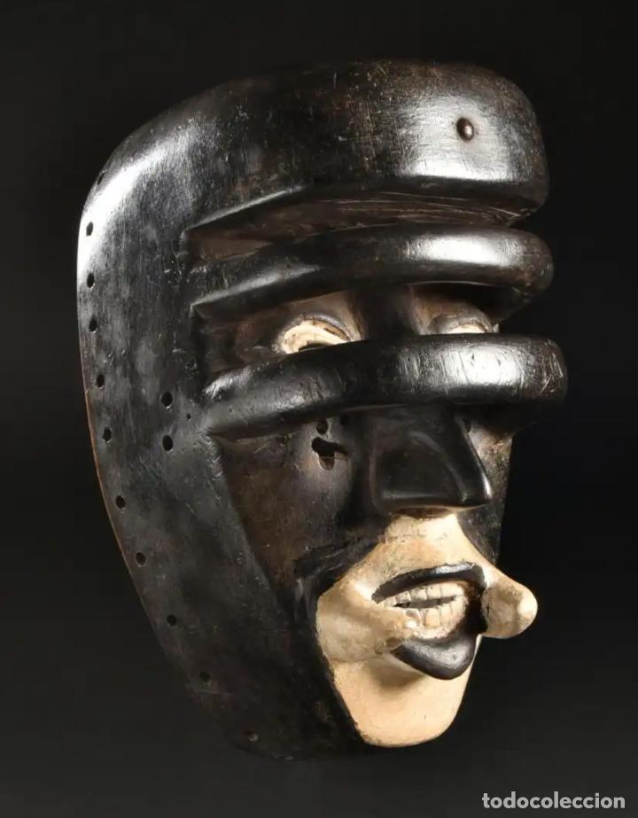 ARTE AFRICANO. IMPORTANTE PROCEDENCIA. MÁSCARA BETE N´GRÉ O GLÉ. COSTA DE MARFIL. (Arte - Étnico - África)
