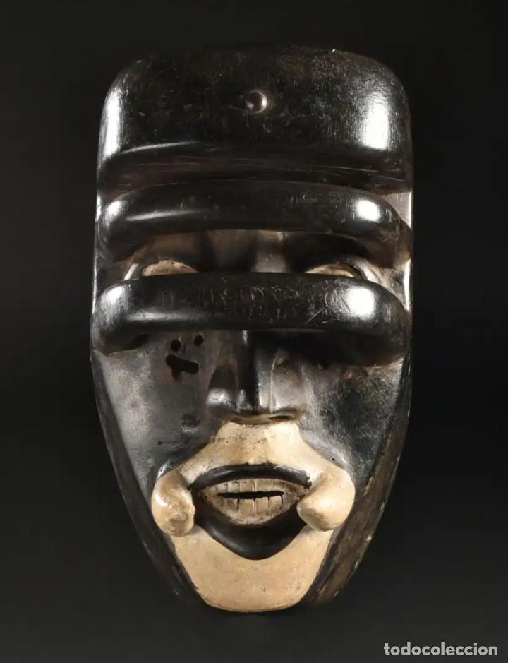 Arte: Arte Africano. Importante procedencia. Máscara BETE N´GRÉ o GLÉ. Costa de Marfil. - Foto 2 - 155964862