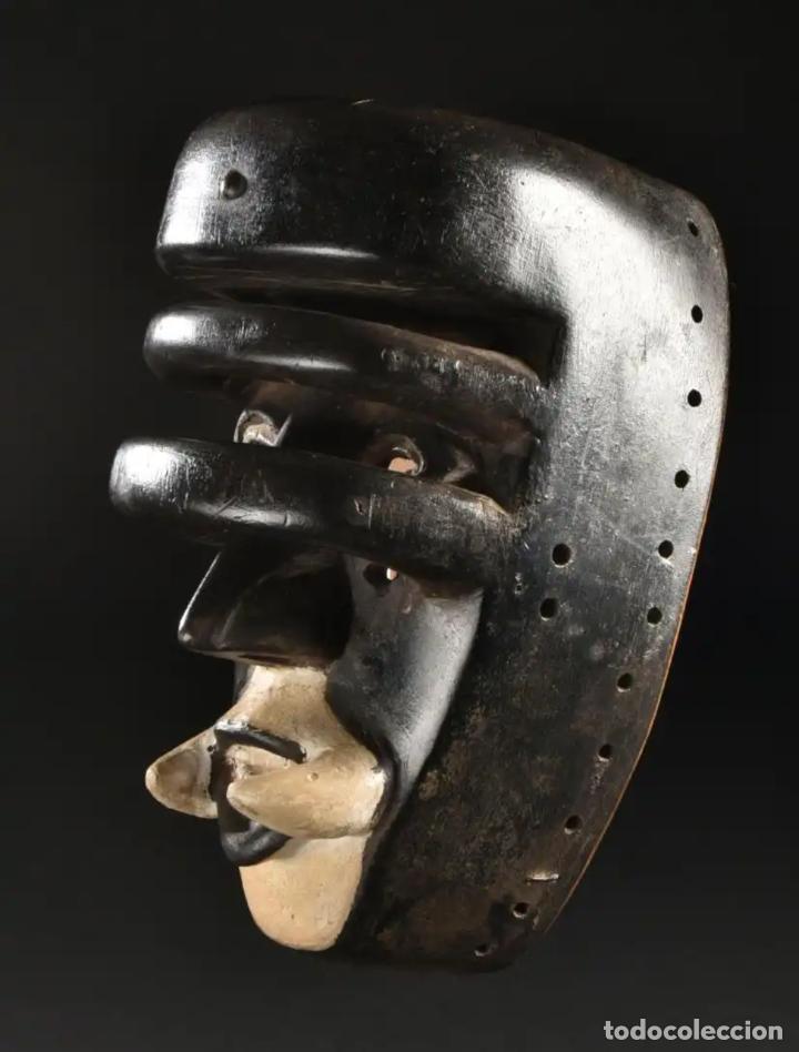 Arte: Arte Africano. Importante procedencia. Máscara BETE N´GRÉ o GLÉ. Costa de Marfil. - Foto 3 - 155964862