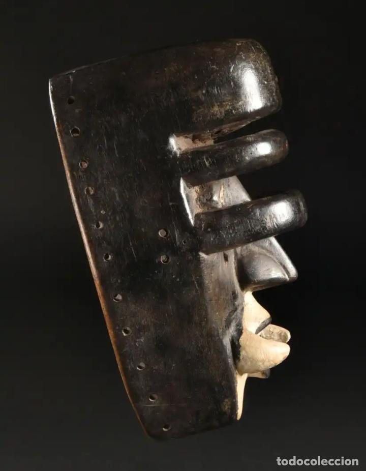 Arte: Arte Africano. Importante procedencia. Máscara BETE N´GRÉ o GLÉ. Costa de Marfil. - Foto 4 - 155964862