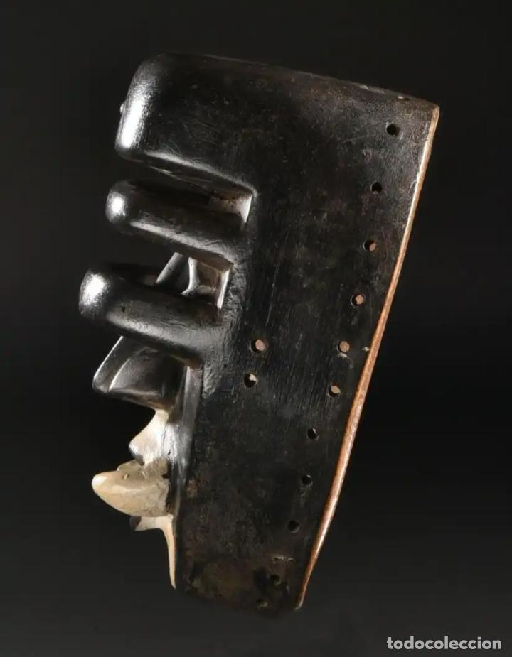Arte: Arte Africano. Importante procedencia. Máscara BETE N´GRÉ o GLÉ. Costa de Marfil. - Foto 5 - 155964862