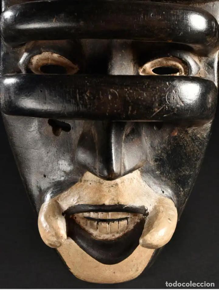 Arte: Arte Africano. Importante procedencia. Máscara BETE N´GRÉ o GLÉ. Costa de Marfil. - Foto 6 - 155964862