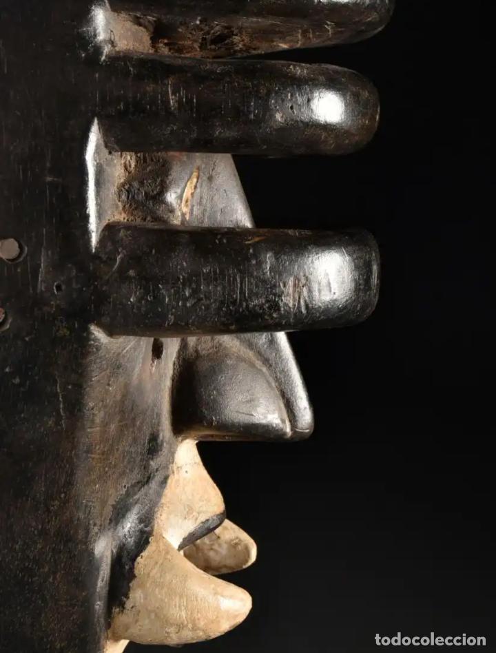 Arte: Arte Africano. Importante procedencia. Máscara BETE N´GRÉ o GLÉ. Costa de Marfil. - Foto 7 - 155964862