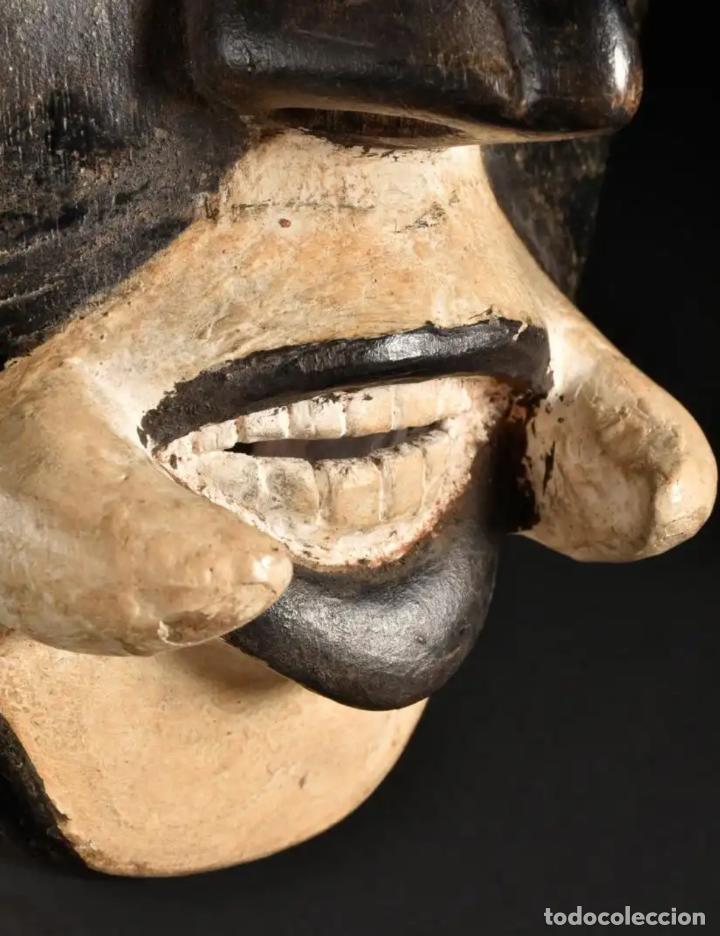 Arte: Arte Africano. Importante procedencia. Máscara BETE N´GRÉ o GLÉ. Costa de Marfil. - Foto 9 - 155964862