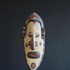 Arte: MASCARA DE PARED DE YATMÜL - PAPUA NUEVA GUINEA. 64 CM. Lote 156885922