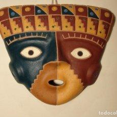 Arte: MÁSCARA CULTURA CHANCAY (PERÚ) DE CERÁMICA.. Lote 159279766