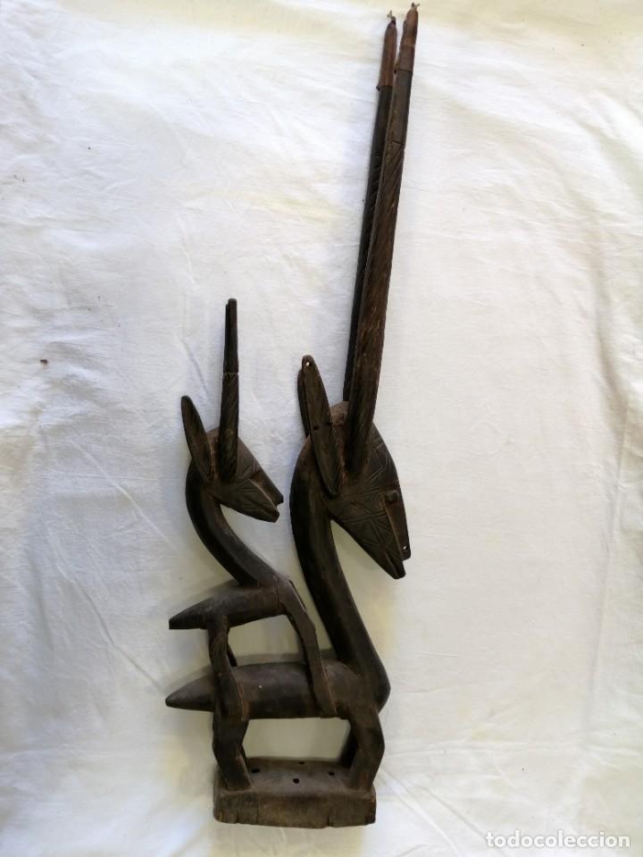 Arte: Arte africano. Máscara ciwara de Mali - Foto 3 - 159349350