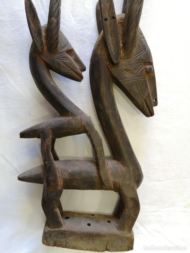 ARTE AFRICANO. MÁSCARA CIWARA DE MALI (Arte - Étnico - África)