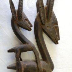 Arte: ARTE AFRICANO. MÁSCARA CIWARA DE MALI. Lote 159349350