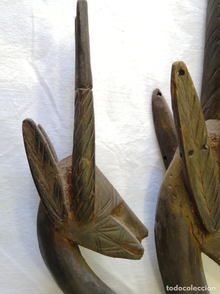 Arte: Arte africano. Máscara ciwara de Mali - Foto 4 - 159349350