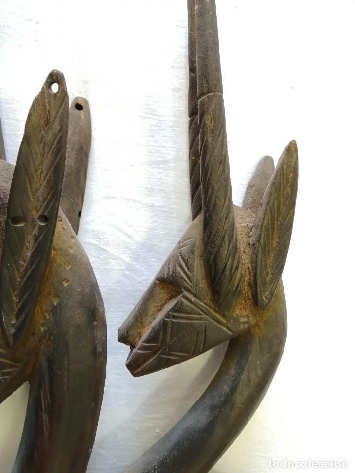 Arte: Arte africano. Máscara ciwara de Mali - Foto 6 - 159349350