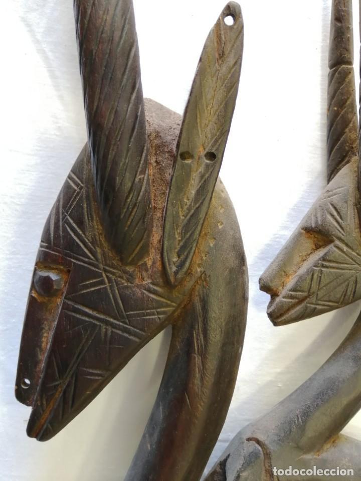 Arte: Arte africano. Máscara ciwara de Mali - Foto 8 - 159349350