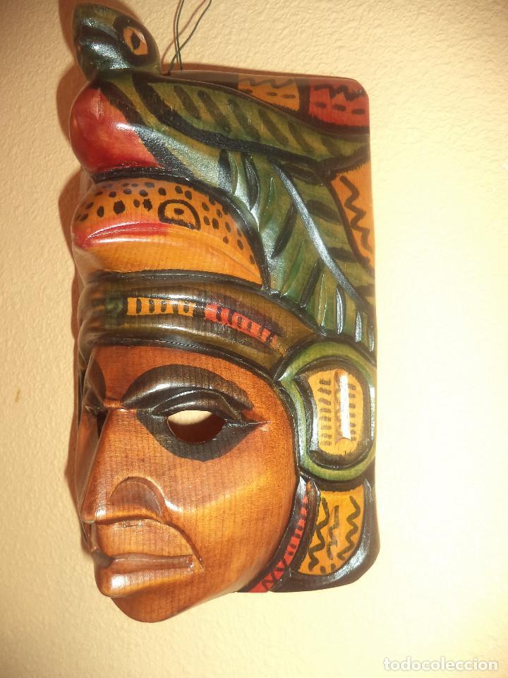 Arte: Arte etnico Mascara y objeto musical Sudamericano - Foto 3 - 160417374