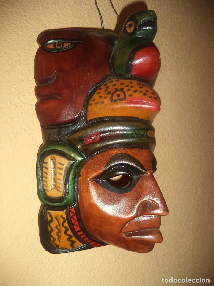 Arte: Arte etnico Mascara y objeto musical Sudamericano - Foto 4 - 160417374