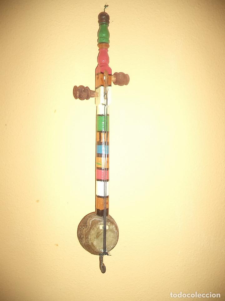 Arte: Arte etnico Mascara y objeto musical Sudamericano - Foto 5 - 160417374