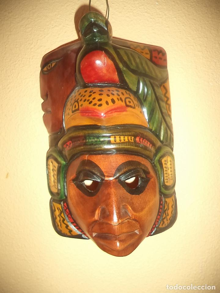 Arte: Arte etnico Mascara y objeto musical Sudamericano - Foto 11 - 160417374