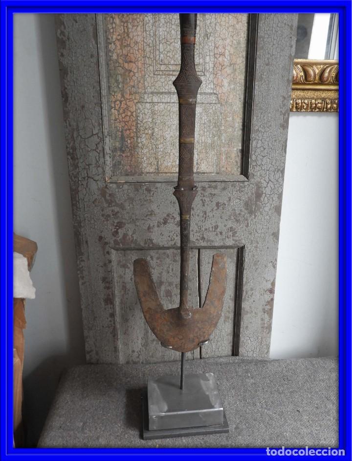 AZADA ANTIGUA DE LOS TUAREG DE NIGER ARTE AFRICANO (Arte - Étnico - África)
