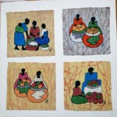 Arte: BATIKS AFRICANOS. Lote 162572518