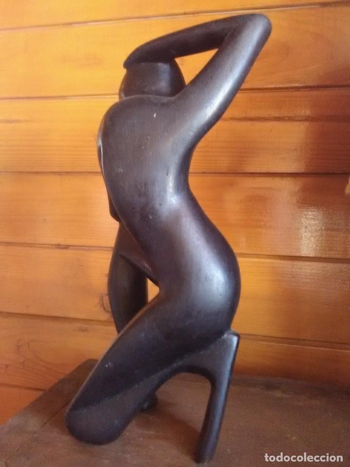 Arte: Escultura tallada Africana - Foto 4 - 163857050