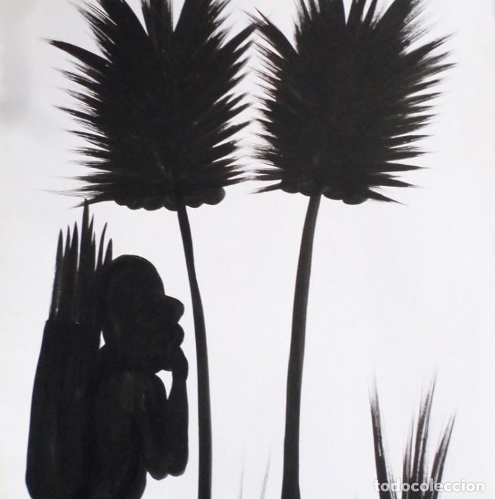 Arte: Pintura africana -- Firma +/- Nolo - Foto 4 - 165390894