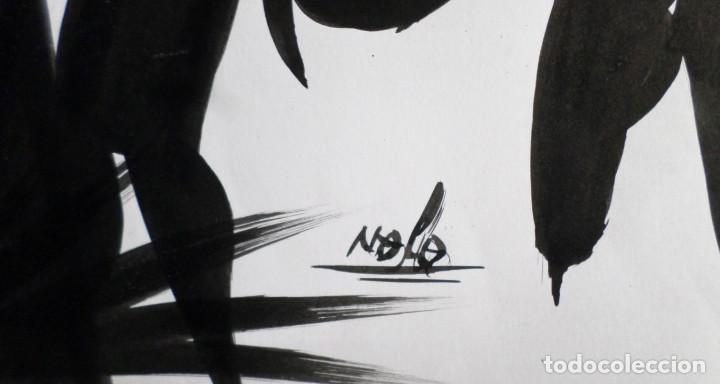 Arte: Pintura africana -- Firma +/- Nolo - Foto 2 - 165391178