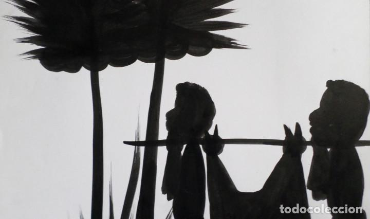 Arte: Pintura africana -- Firma +/- Nolo - Foto 3 - 165391178