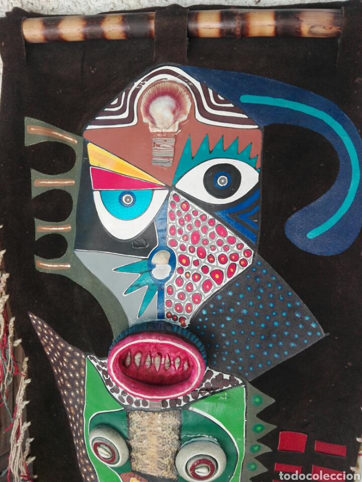 Arte: TOTEM AFRICANO DE GRAN TAMAÑO BURKINA FASO ??? FIRMADO - Foto 2 - 165443669