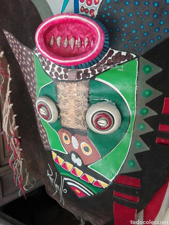Arte: TOTEM AFRICANO DE GRAN TAMAÑO BURKINA FASO ??? FIRMADO - Foto 3 - 165443669