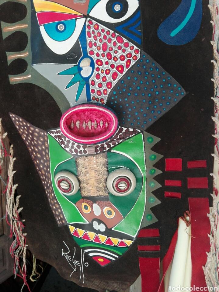 Arte: TOTEM AFRICANO DE GRAN TAMAÑO BURKINA FASO ??? FIRMADO - Foto 5 - 165443669