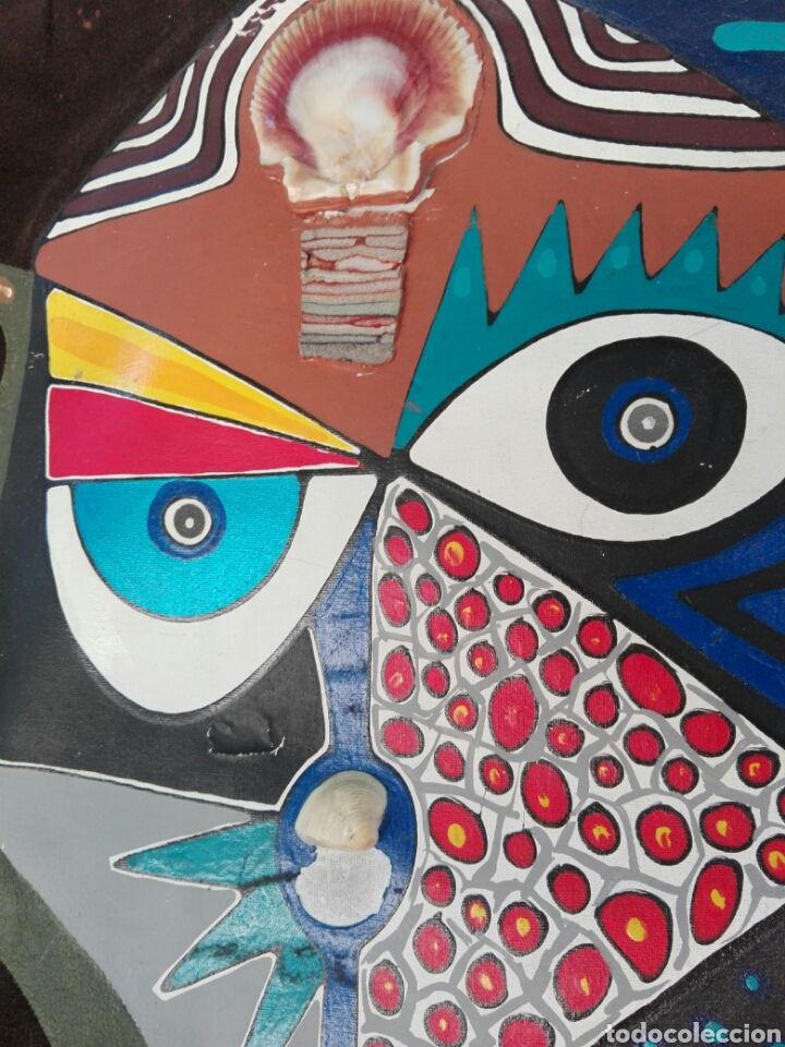 Arte: TOTEM AFRICANO DE GRAN TAMAÑO BURKINA FASO ??? FIRMADO - Foto 9 - 165443669