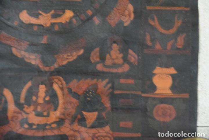 Arte: Thangkas Nepalíes y Tibetanos - Foto 9 - 165827014