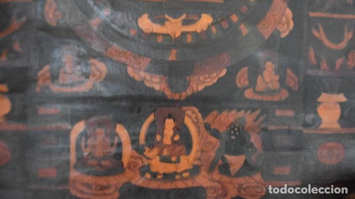 Arte: Thangkas Nepalíes y Tibetanos - Foto 11 - 165827014
