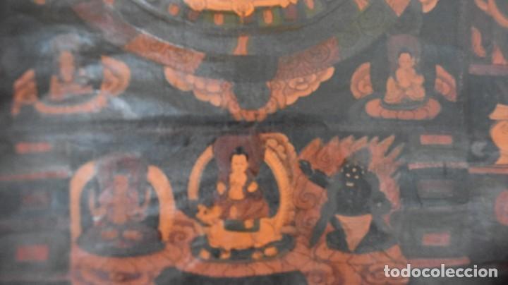 Arte: Thangkas Nepalíes y Tibetanos - Foto 12 - 165827014