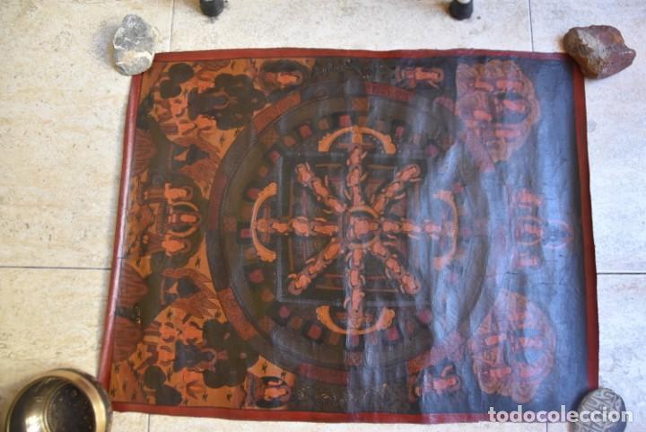 Arte: Thangkas Nepalíes y Tibetanos - Foto 9 - 165827850