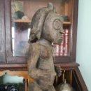 Arte: CURIOSA ESCULTURA ÉTNICA, TALLA AFRICANA ANTIGUA, 47CM. Lote 165956925