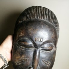 Arte: ANTIGUA MASCARA TRIBAL AFRICANA A IDENTIFICAR ETNIA--30 CM. Lote 168712229