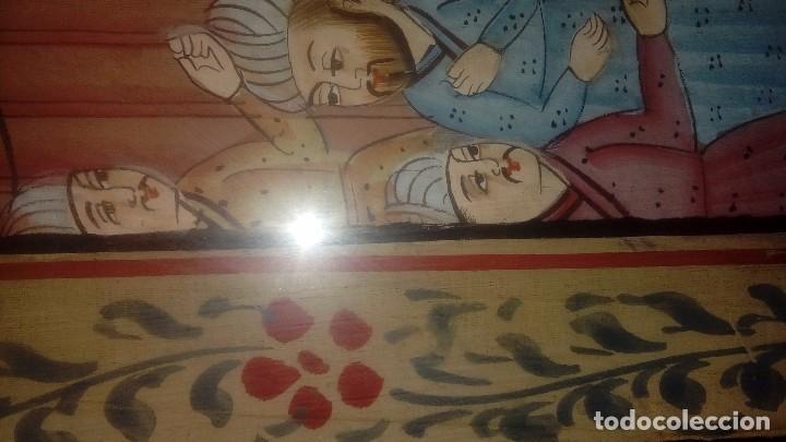 Arte: Escuela de Rajastan Escena cortesana - Foto 3 - 169000040