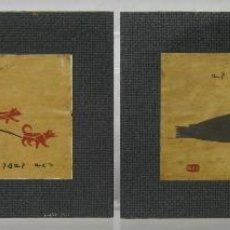 Kunst - Esquimales Inuit . Henry Napartuk sello firmado . Canada . Eskimo Hunter And Seal . Woodblock - 169133826