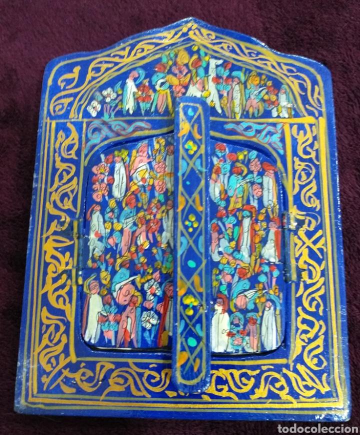 Espejo De Artesanía Marroquí 17x125 Cm