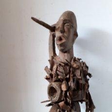Arte: FETICHE AFRICANO CONGO. Lote 171547395