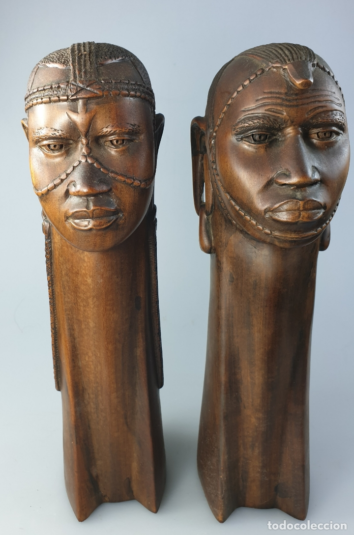 Arte: ARTE AFRICANA SIGLO XIX - Foto 3 - 171975984