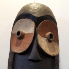 Arte: MÁSCARA BEMBE CONGO 40 CM. Lote 172278604