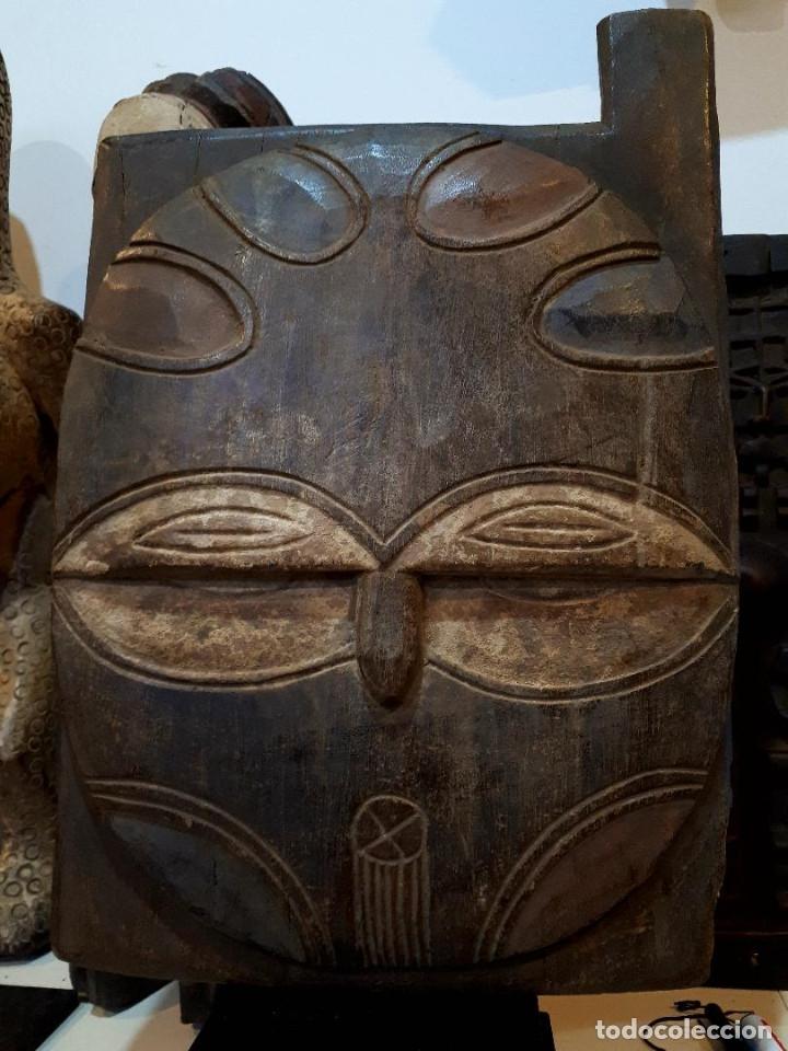 VENTANA MADERA TEKE CONGO (Arte - Étnico - África)