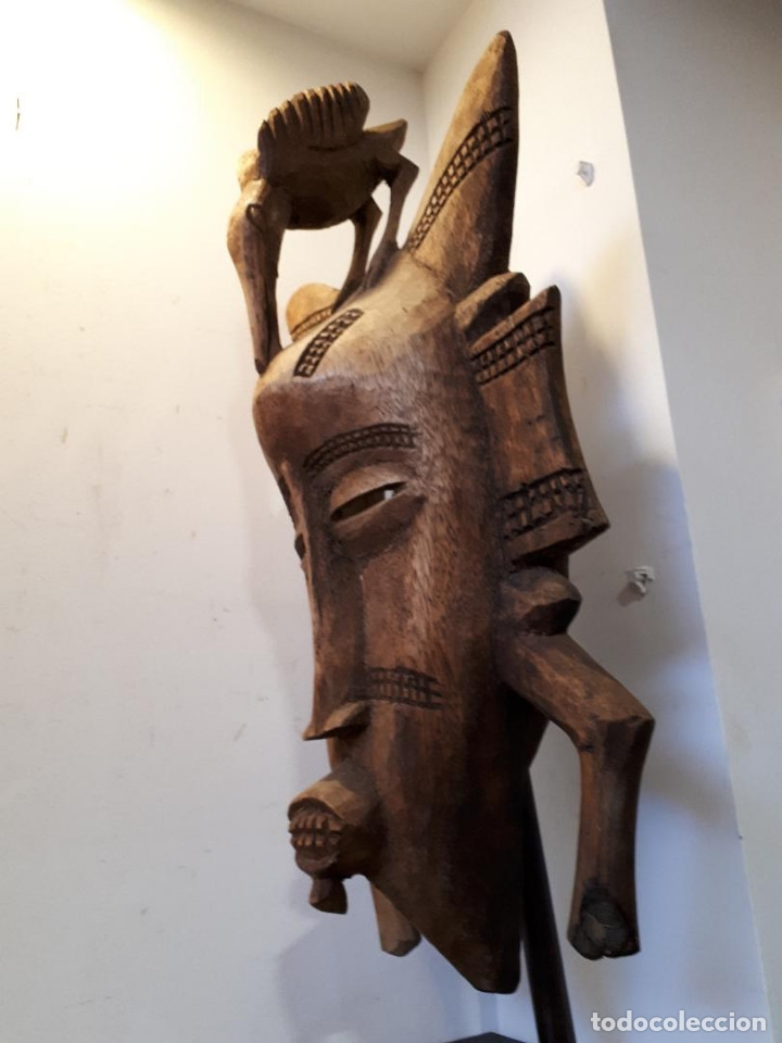 Arte: Máscara Senufo Mali - Foto 2 - 172545927