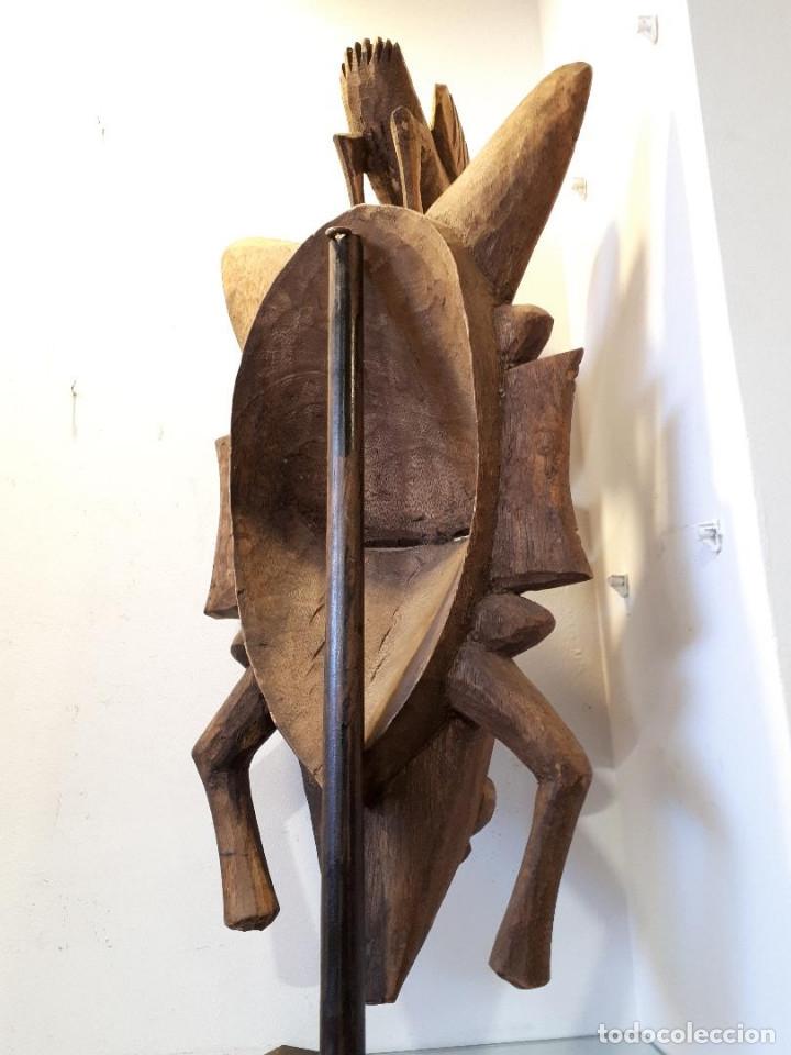 Arte: Máscara Senufo Mali - Foto 4 - 172545927
