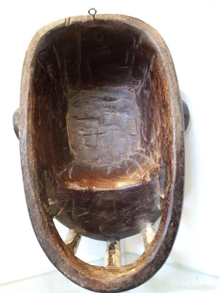 Arte: Máscara africana - Foto 3 - 172575238