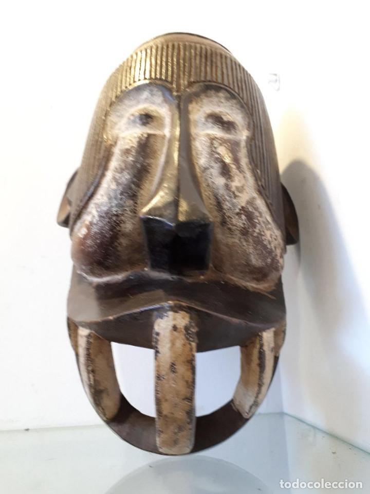 Arte: Máscara africana - Foto 4 - 172575238