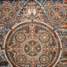 Arte: ANTIGUO THANGKA ASIATICO PINTADO. PRINCIPIOS DEL SIGLO XX. Lote 172674595