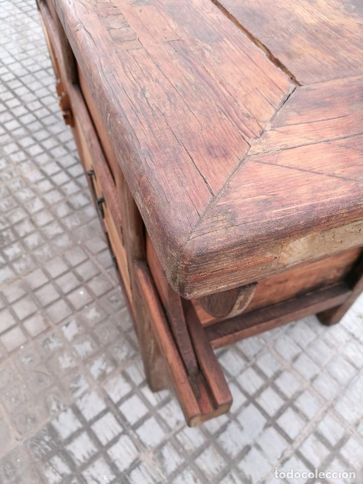 Arte: PRECIOSO ALTAR BUFFET CHINO APARADOR mostrador MADERA CIPRES DINASTIA QING SIGLO XIX-ORIGINAL REF-DC - Foto 12 - 172785724